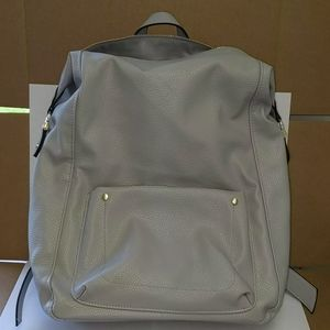 A new day gray backpack